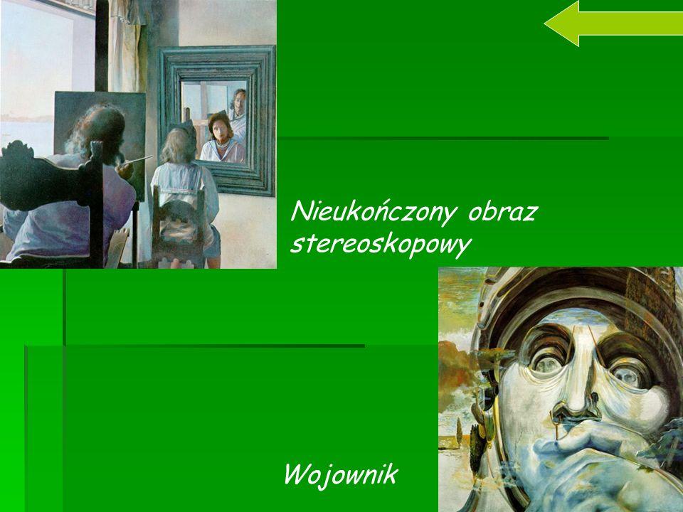 Nieukończony obraz stereoskopowy