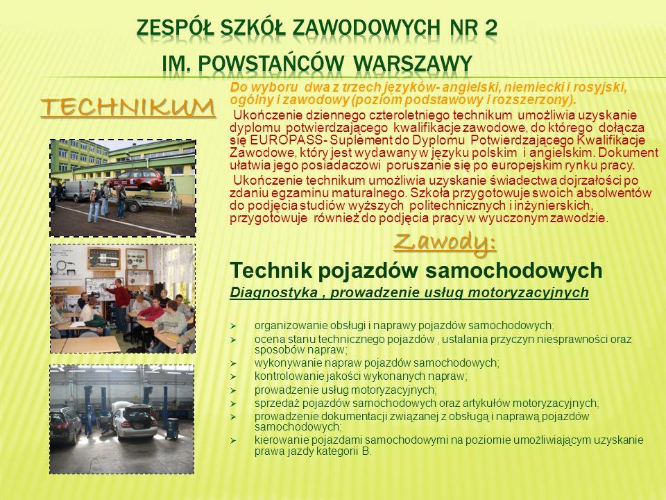 Zespół Szkół Zawodowych nr 2 im. Powstańców Warszawy