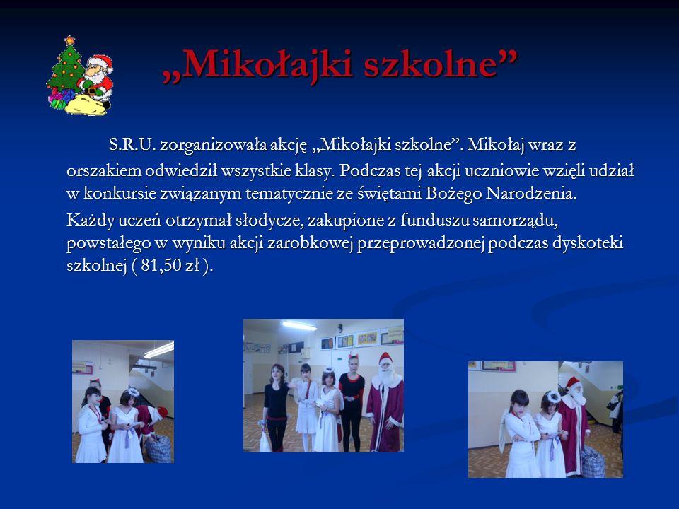 """""""Mikołajki szkolne"""