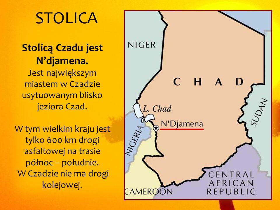 W Czadzie nie ma drogi kolejowej.