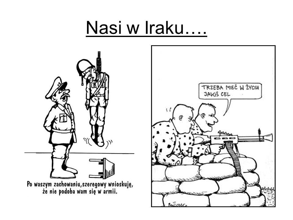 Nasi w Iraku….