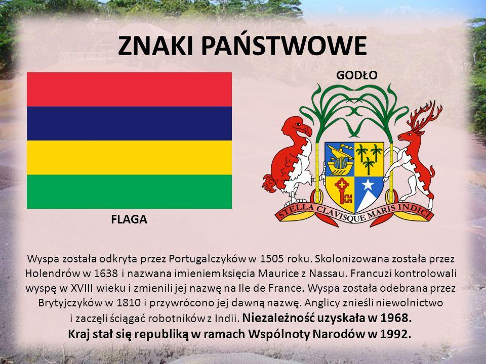 ZNAKI PAŃSTWOWE GODŁO FLAGA