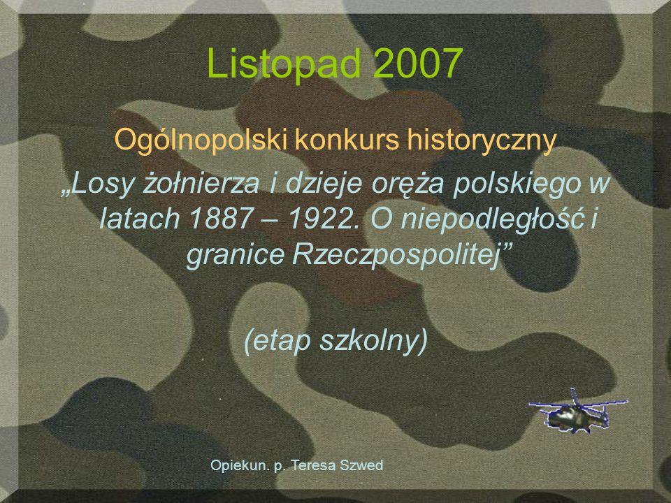 Ogólnopolski konkurs historyczny
