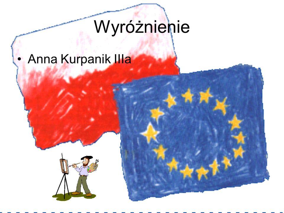 Wyróżnienie Anna Kurpanik IIIa