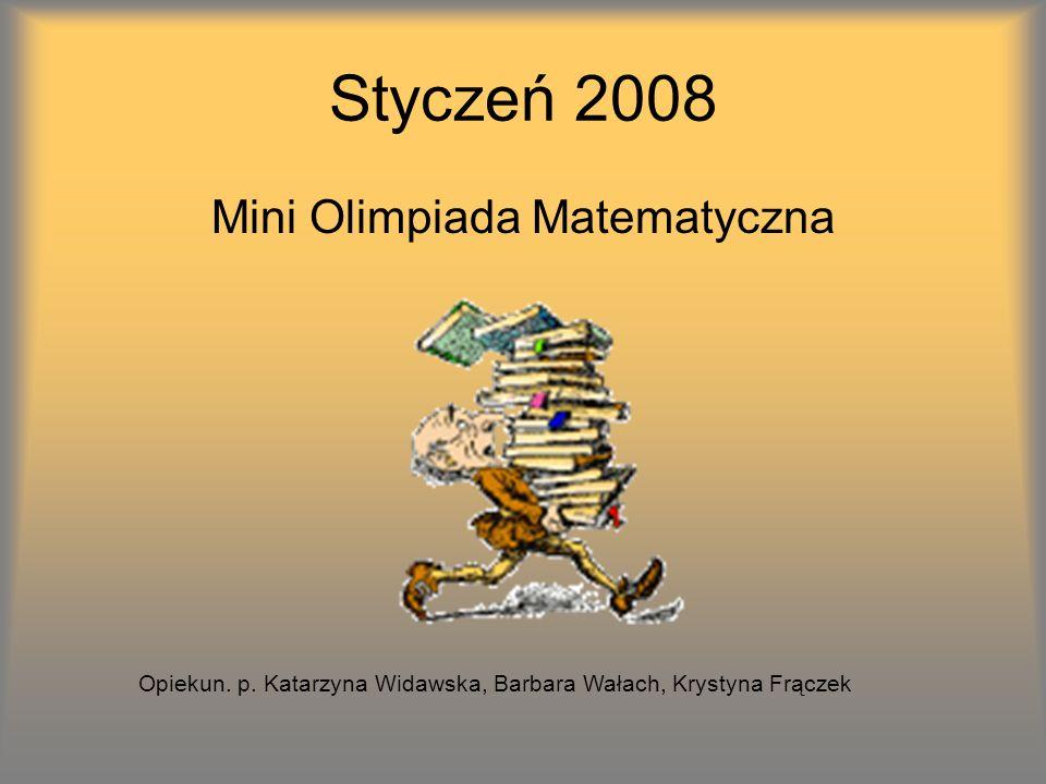 Mini Olimpiada Matematyczna
