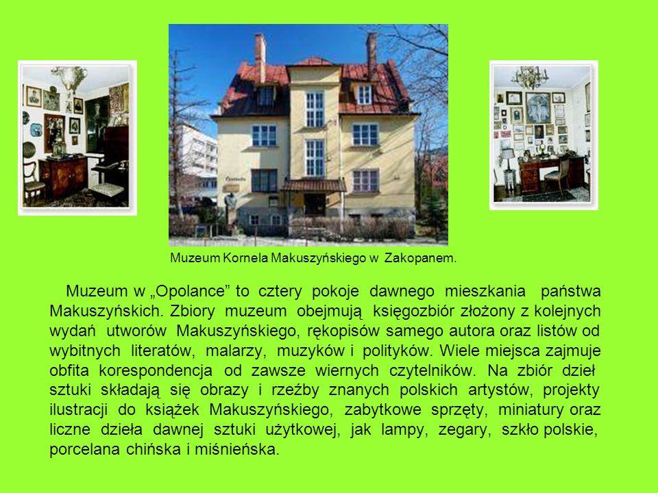 Muzeum Kornela Makuszyńskiego w Zakopanem.