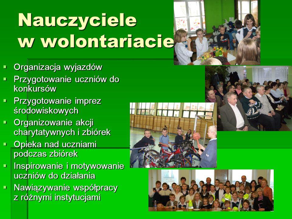 Nauczyciele w wolontariacie