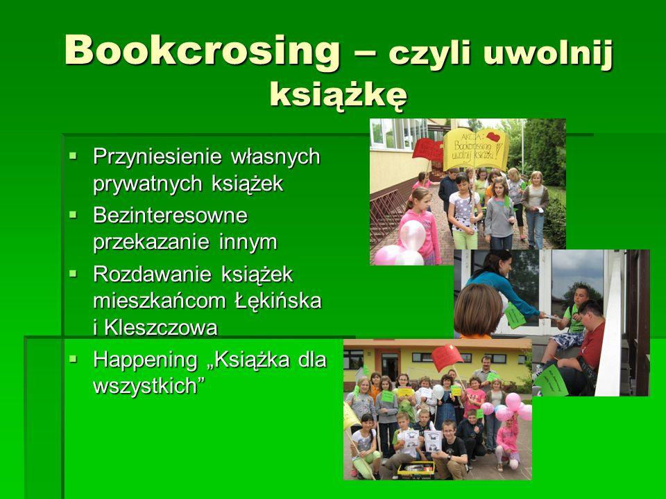 Bookcrosing – czyli uwolnij książkę