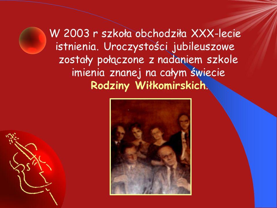 W 2003 r szkoła obchodziła XXX-lecie