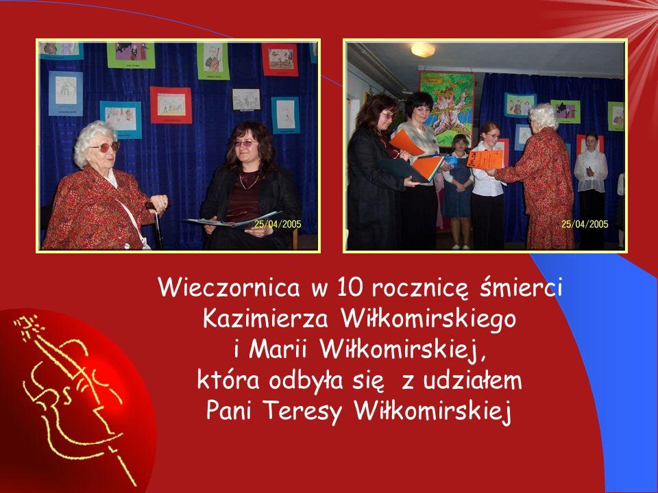 Wieczornica w 10 rocznicę śmierci Kazimierza Wiłkomirskiego