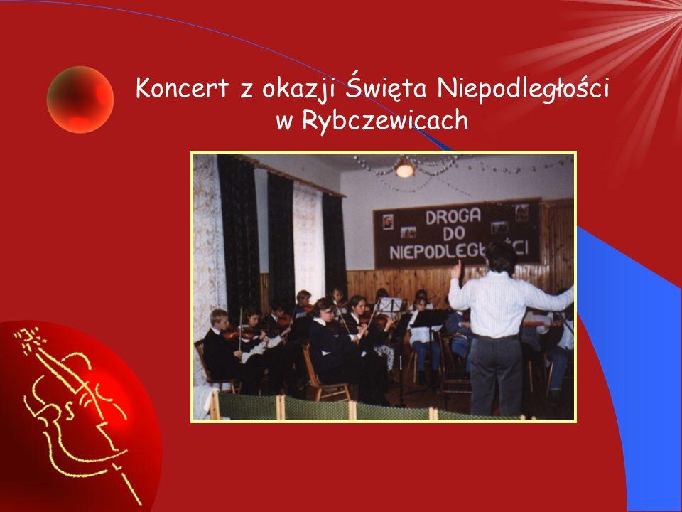 Koncert z okazji Święta Niepodległości w Rybczewicach