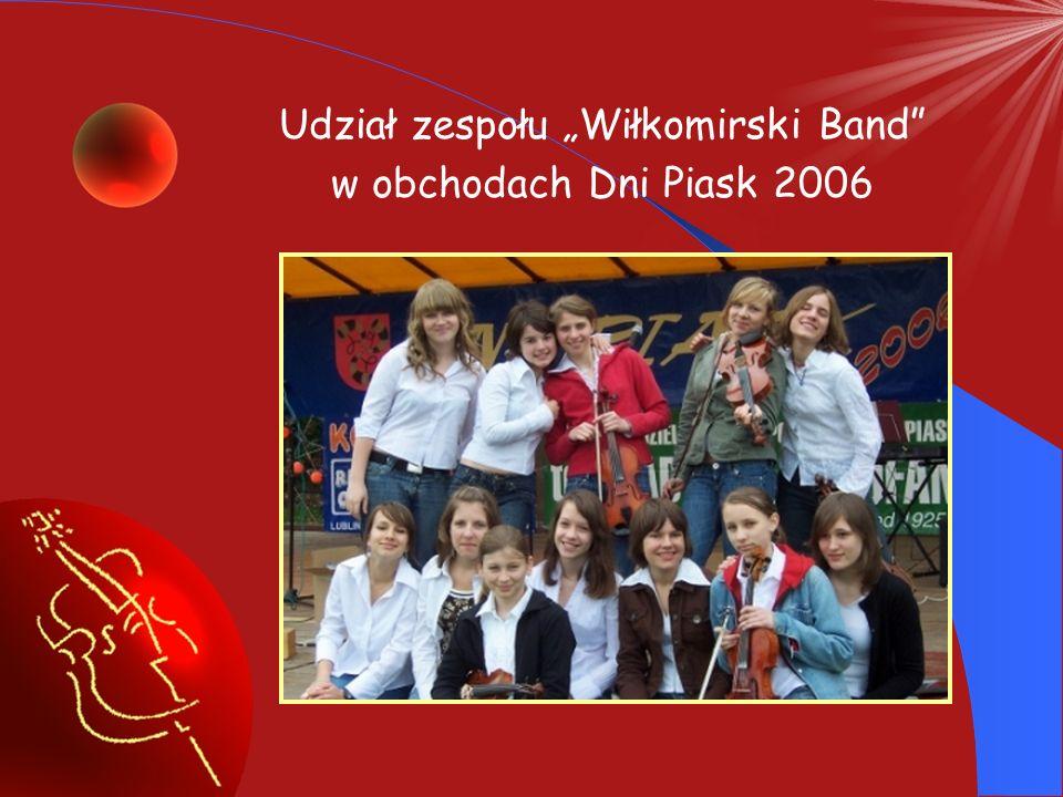 """Udział zespołu """"Wiłkomirski Band"""