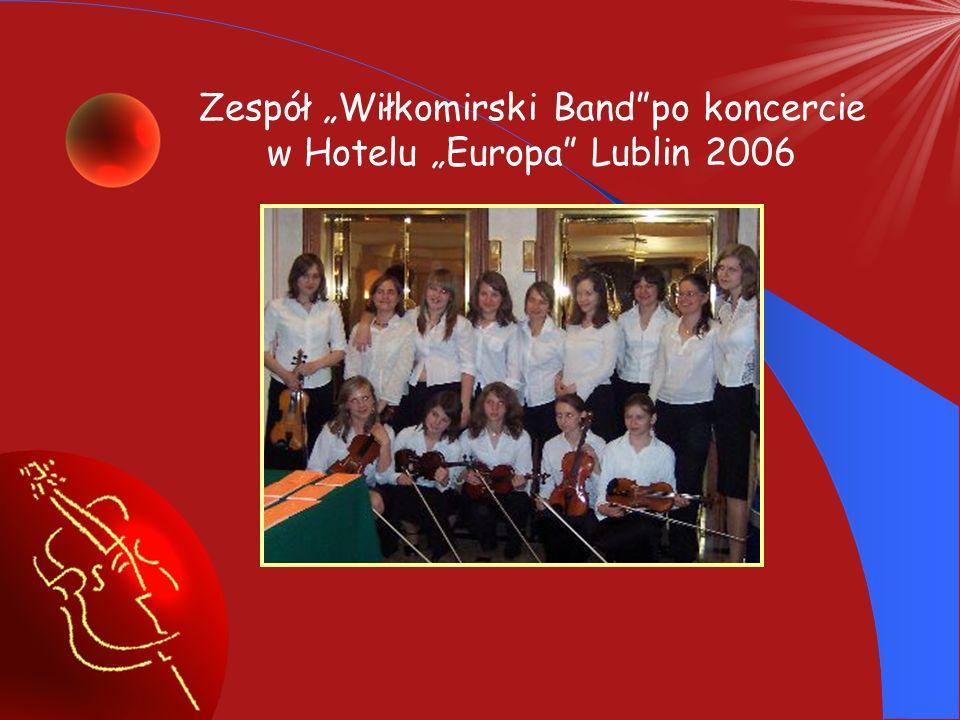 """Zespół """"Wiłkomirski Band po koncercie w Hotelu """"Europa Lublin 2006"""