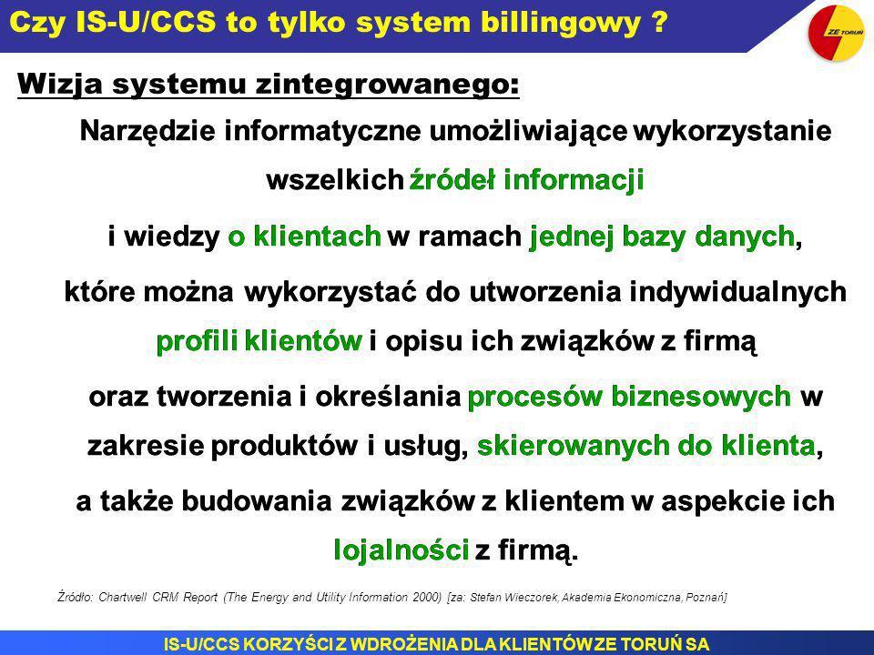 Czy IS-U/CCS to tylko system billingowy