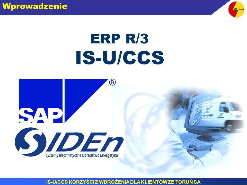 Wprowadzenie ERP R/3 IS-U/CCS
