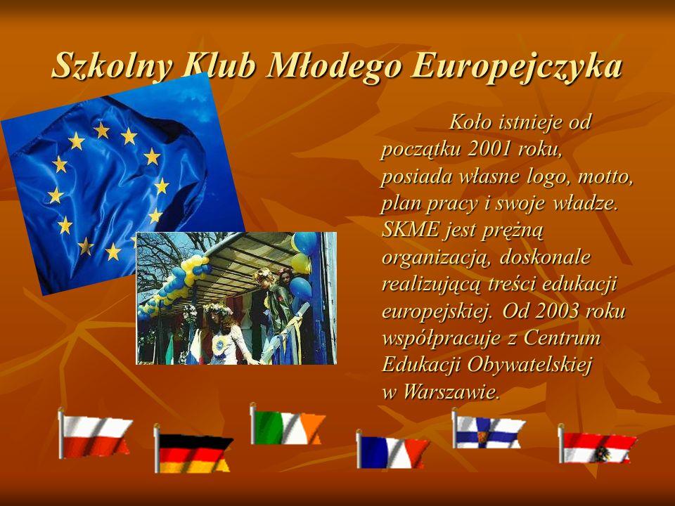 Szkolny Klub Młodego Europejczyka