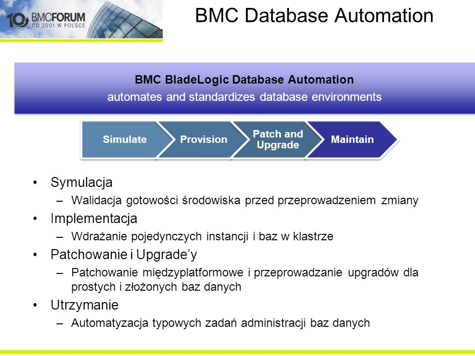 BMC Database Automation