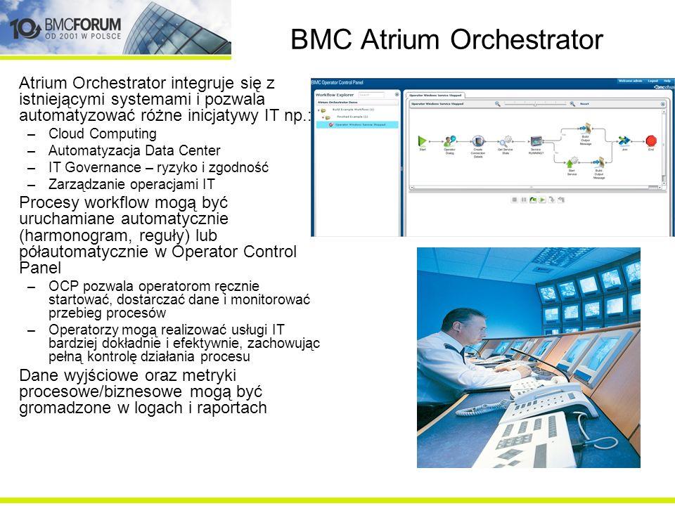 BMC Atrium Orchestrator