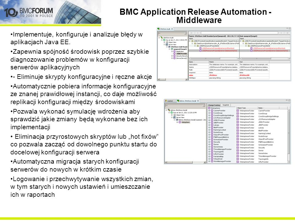 BMC Application Release Automation - Middleware