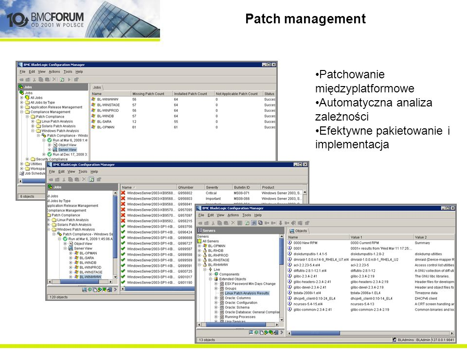 Cross-platform patching Dependency analysis & simulation
