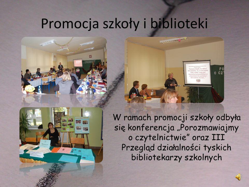 Promocja szkoły i biblioteki