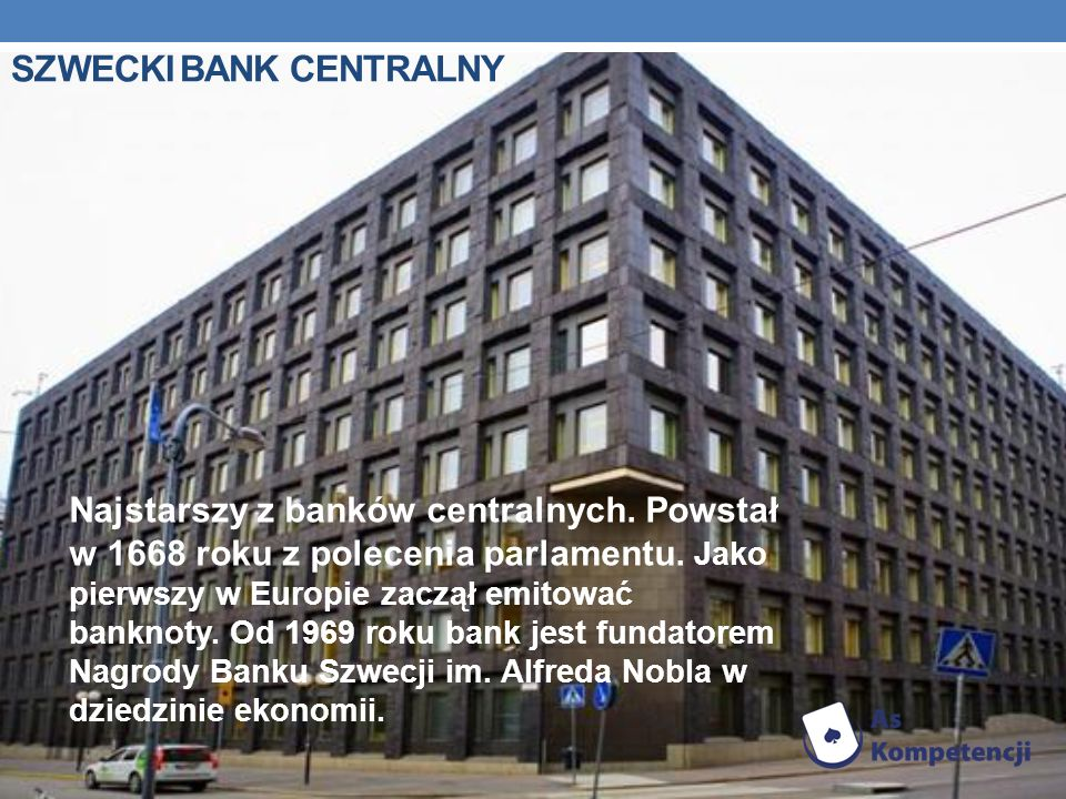SZWECKI BANK CENTRALNY