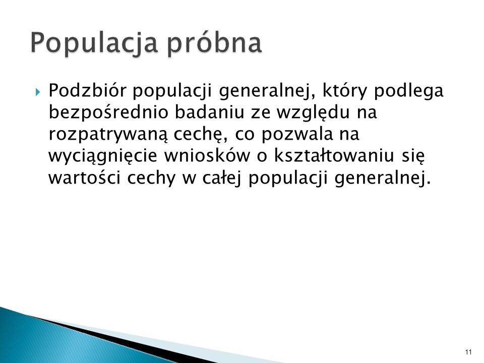 Populacja próbna