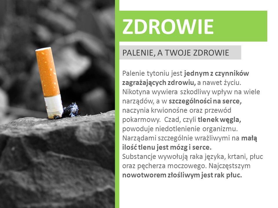 zdrowie Palenie, a twoje zdrowie