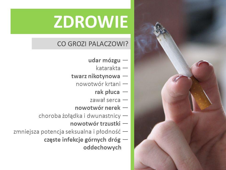 zdrowie Co grozi palaczowi
