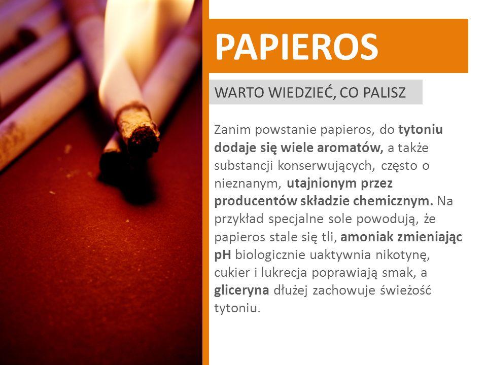 PAPIEROS Warto wiedzieć, co palisz