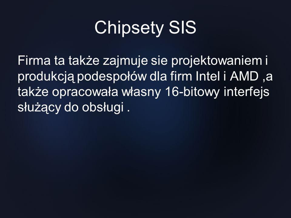 Chipsety SIS