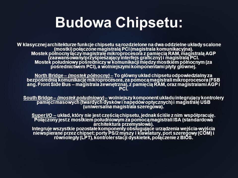 Budowa Chipsetu: