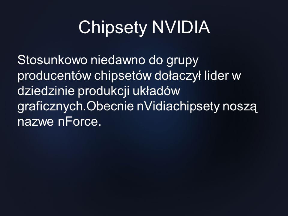 Chipsety NVIDIA