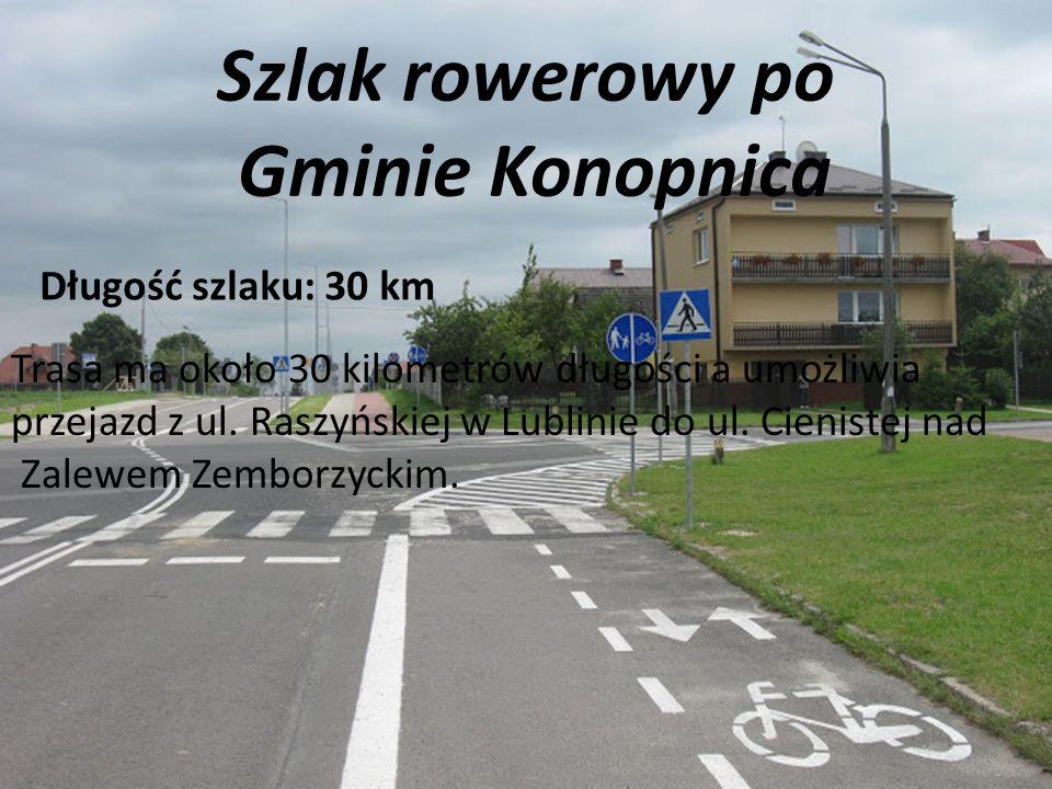 Szlak rowerowy po Gminie Konopnica