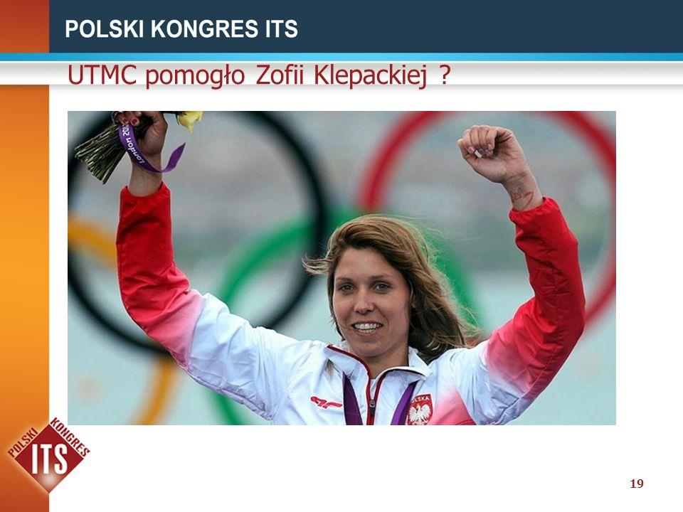 UTMC pomogło Zofii Klepackiej