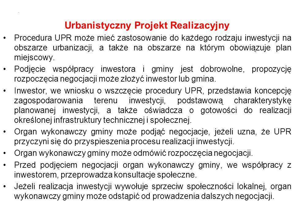 Urbanistyczny Projekt Realizacyjny
