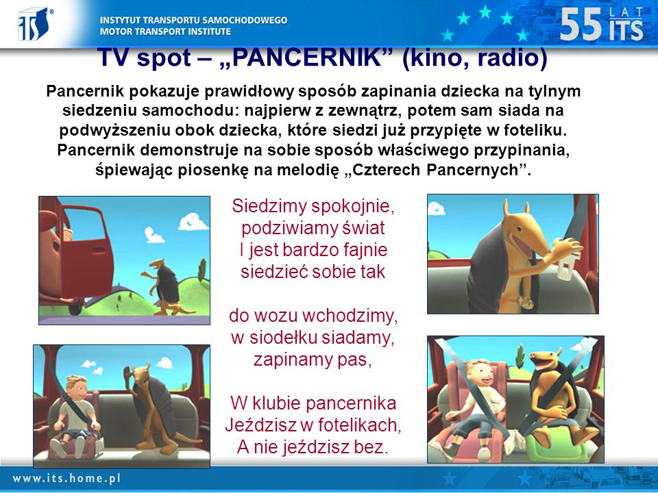 "TV spot – ""PANCERNIK (kino, radio)"