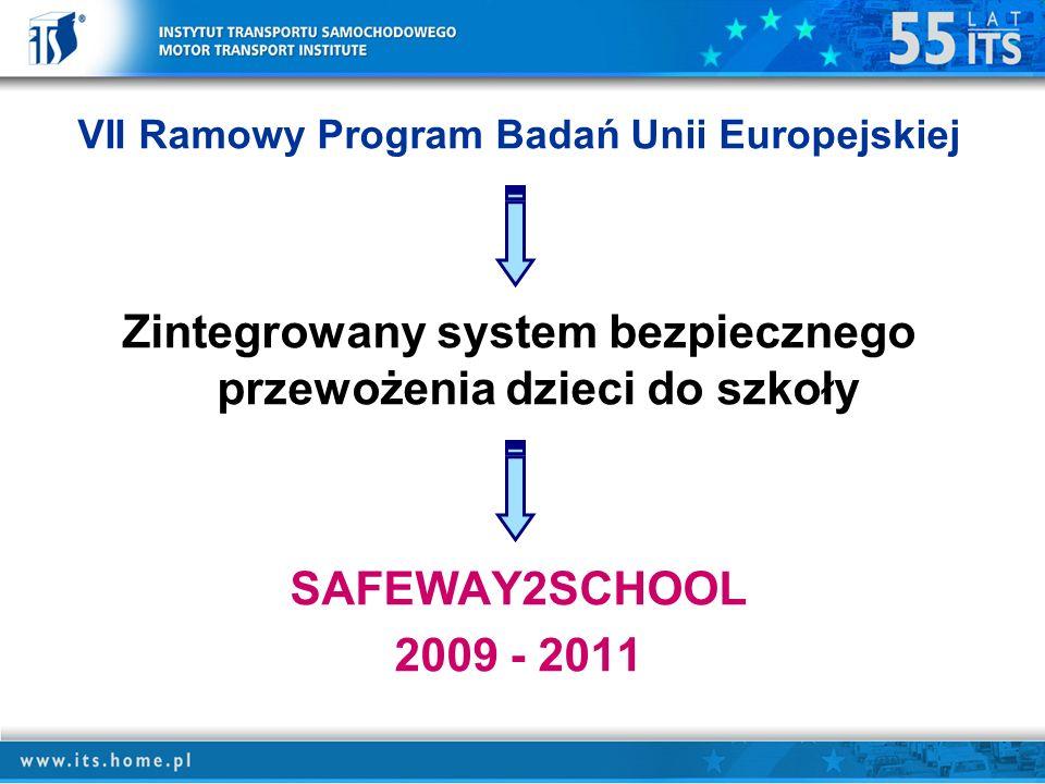 Zintegrowany system bezpiecznego przewożenia dzieci do szkoły