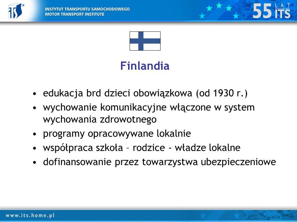 Finlandia edukacja brd dzieci obowiązkowa (od 1930 r.)