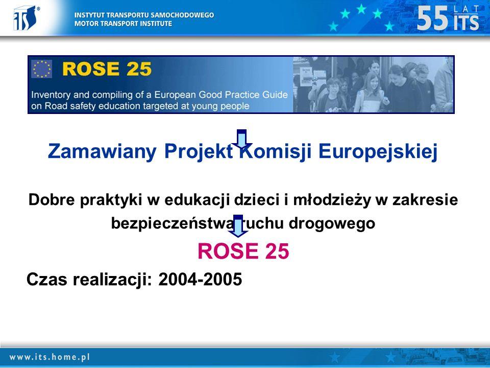 ROSE 25 Zamawiany Projekt Komisji Europejskiej