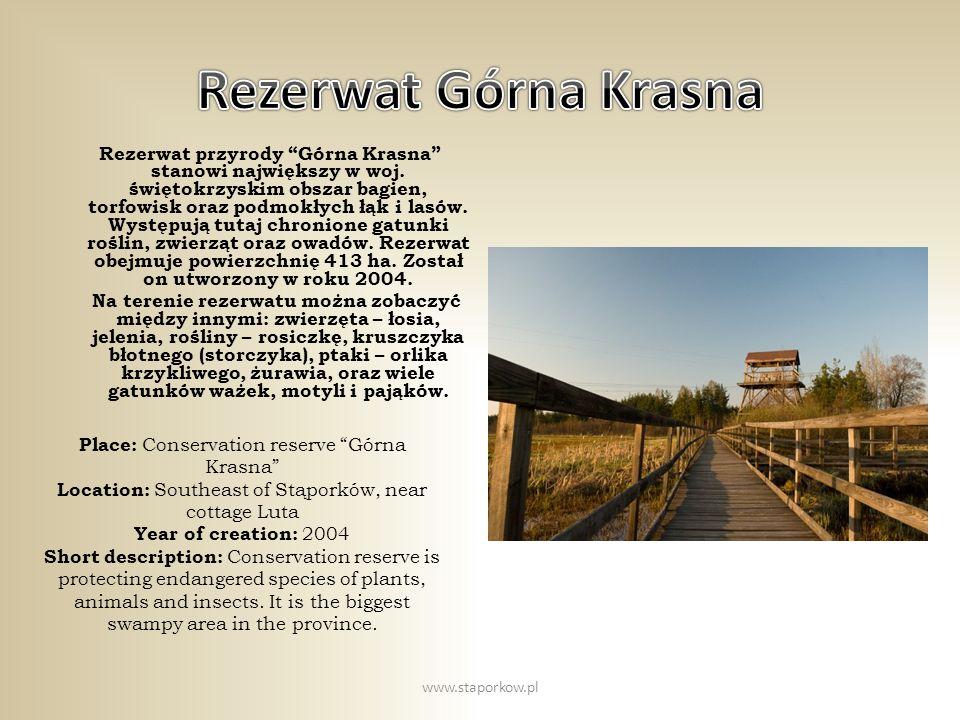 Rezerwat Górna Krasna