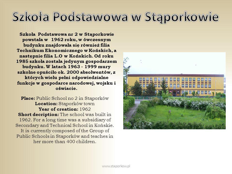 Szkoła Podstawowa w Stąporkowie