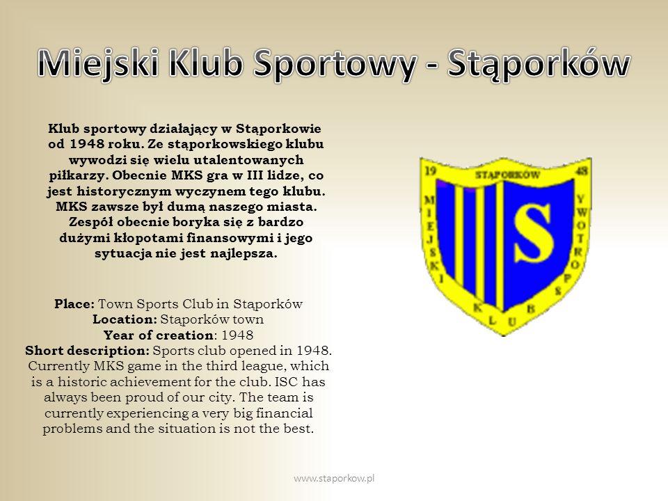 Miejski Klub Sportowy - Stąporków