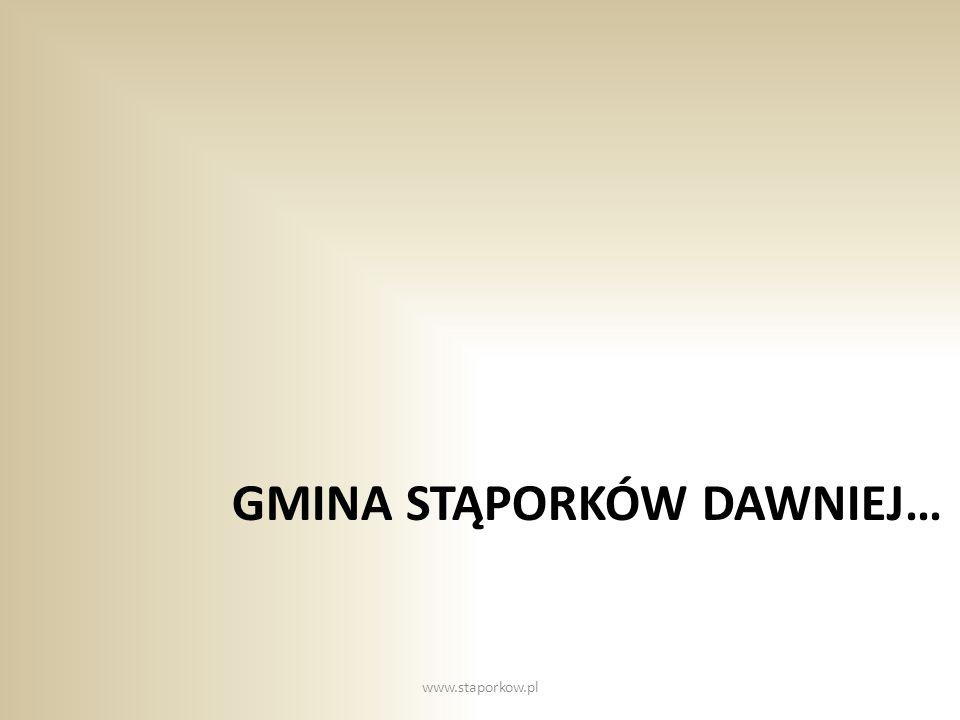 Gmina Stąporków dawniej…