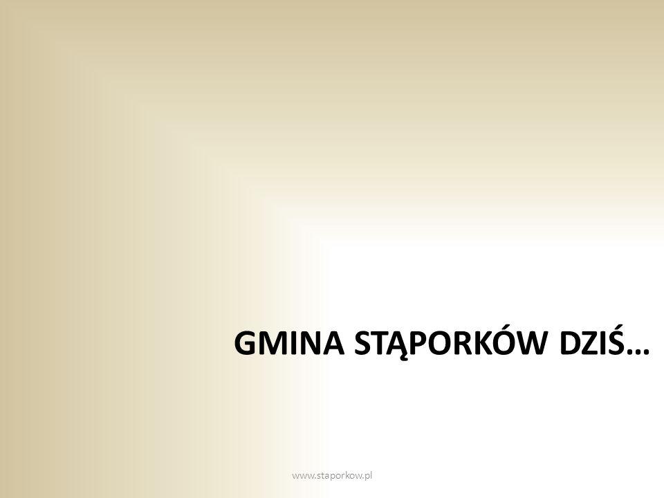 Gmina Stąporków dziś… www.staporkow.pl