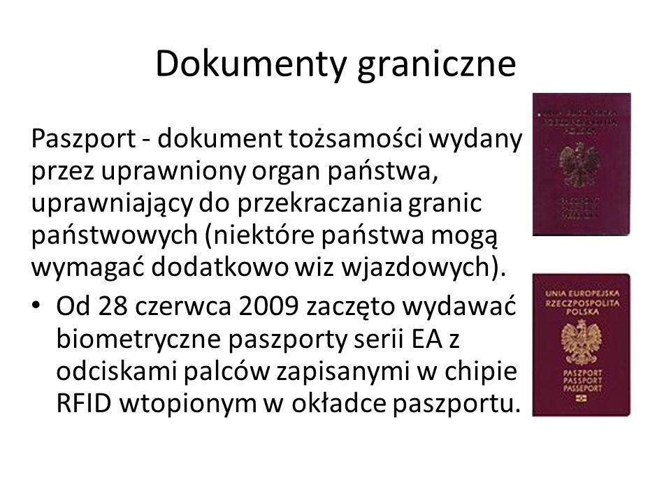 Dokumenty graniczne