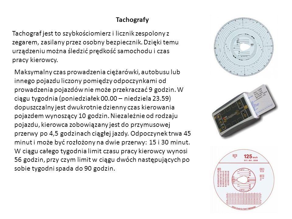 Tachografy