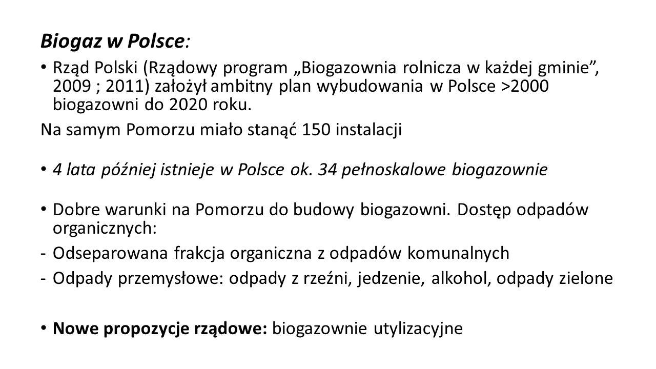 Biogaz w Polsce: