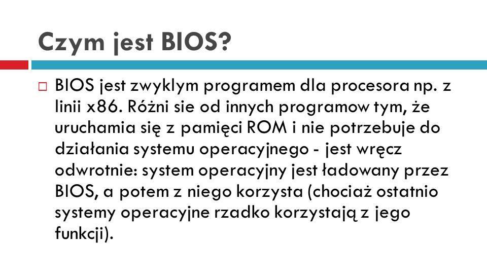 Czym jest BIOS