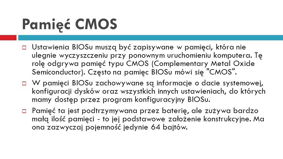 Pamięć CMOS